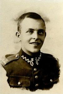 Jan Marchwicki w mundurze